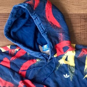 Adidas Originals Paris Graffiti Hoodie Sweatshirt